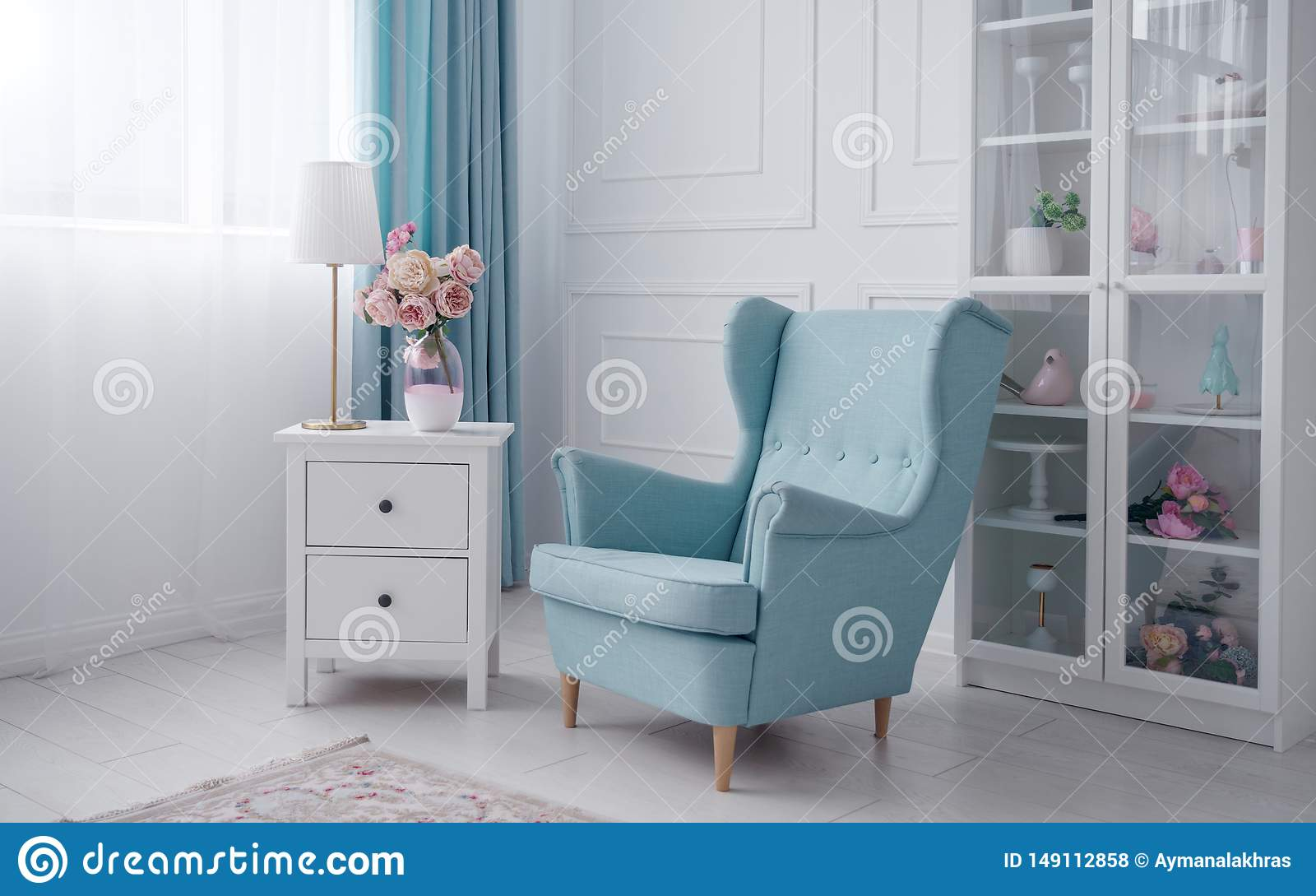 Blue Bedside Table Lamp Cheaper Than Retail Price Buy Clothing Accessories And Lifestyle Products For Women Men