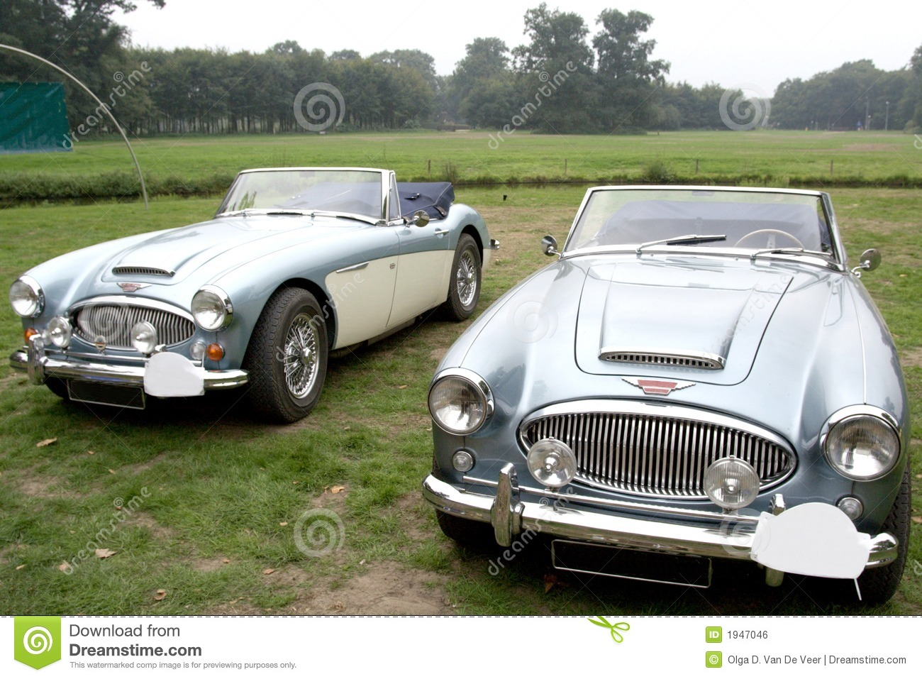 blue classic convertibles stock photo image of healey 1947046. Black Bedroom Furniture Sets. Home Design Ideas