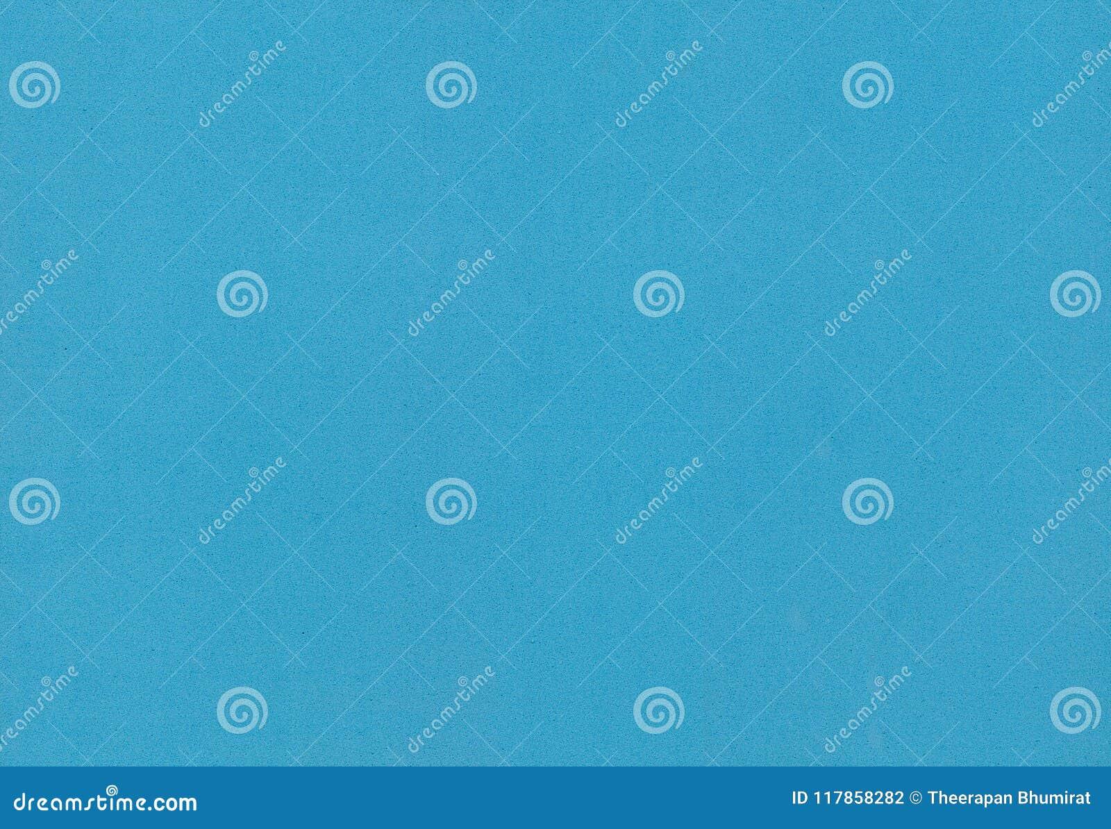Blue color foam paper texture for background or design.