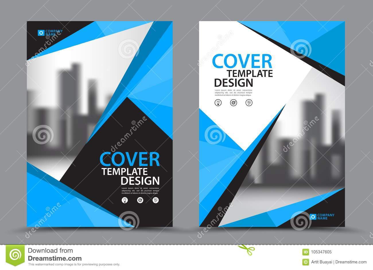 Book Cover Design Free Download Software ~ Blue color scheme with city background business book cover design