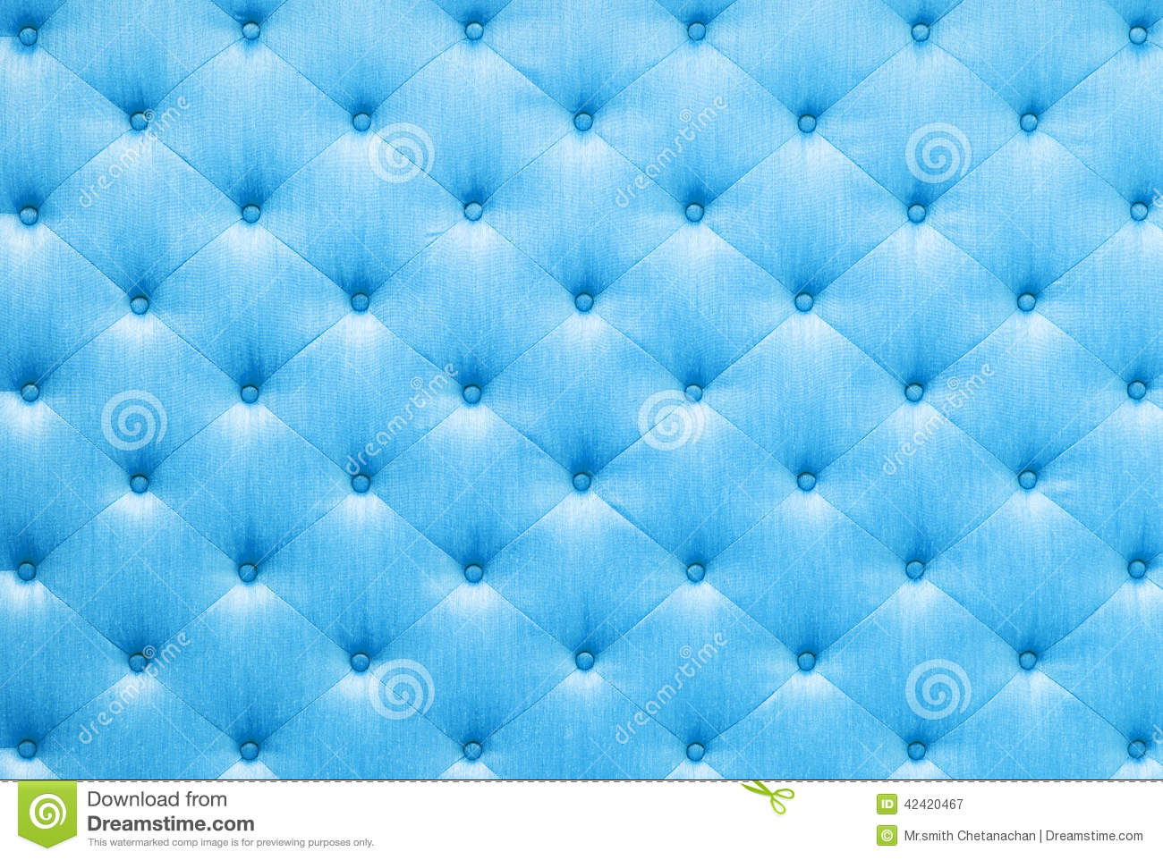 Blue color sofa cloth texture
