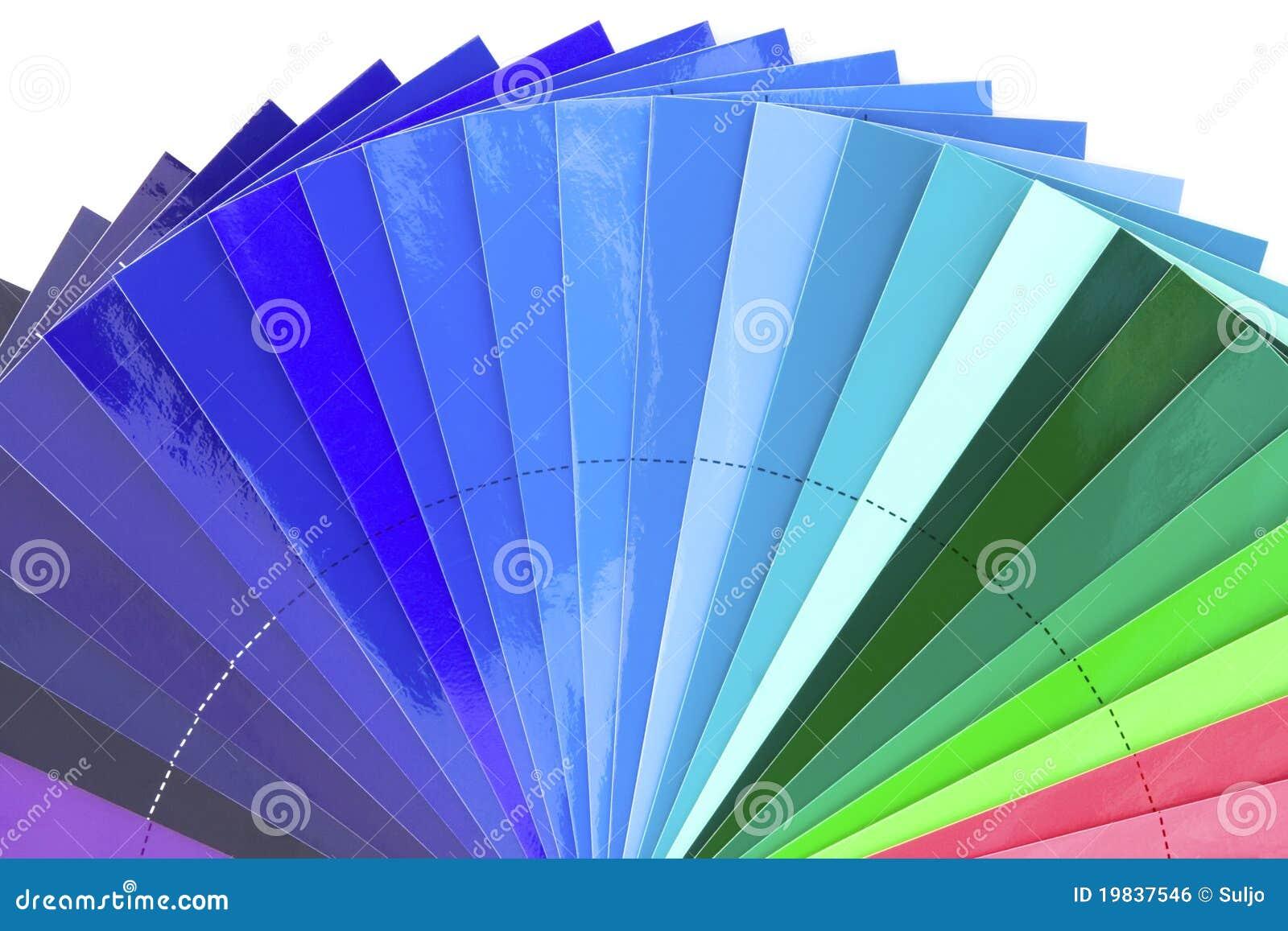 Blue color tones