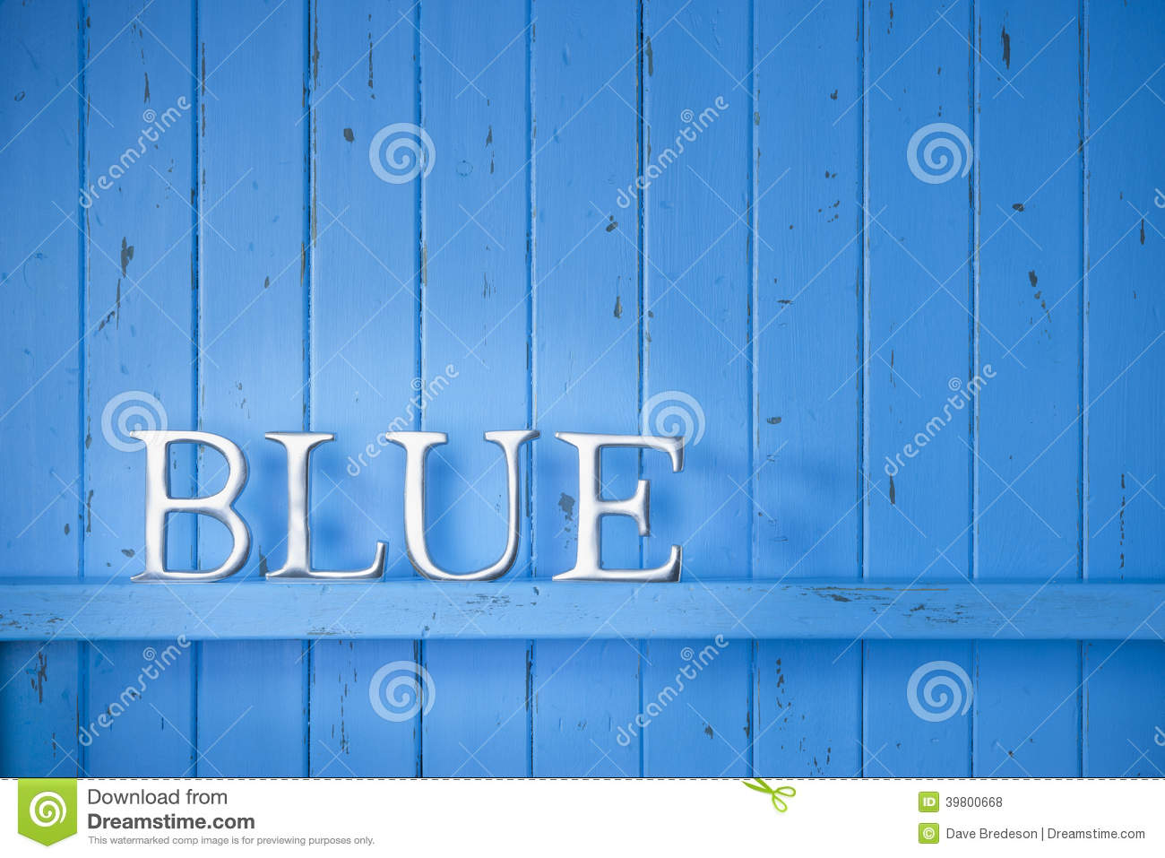 Background image word - Blue Color Word Background Royalty Free Stock Photos