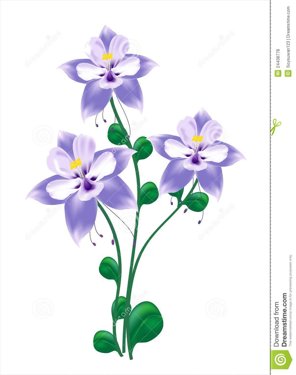Blue columbine flower stock vector illustration of columbine 24438778 download blue columbine flower stock vector illustration of columbine 24438778 izmirmasajfo