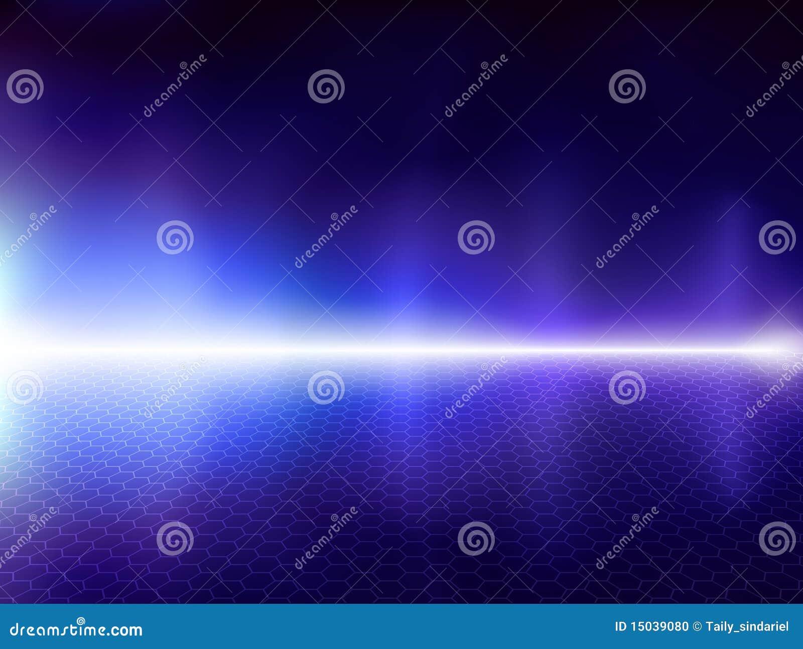 Blue computer background