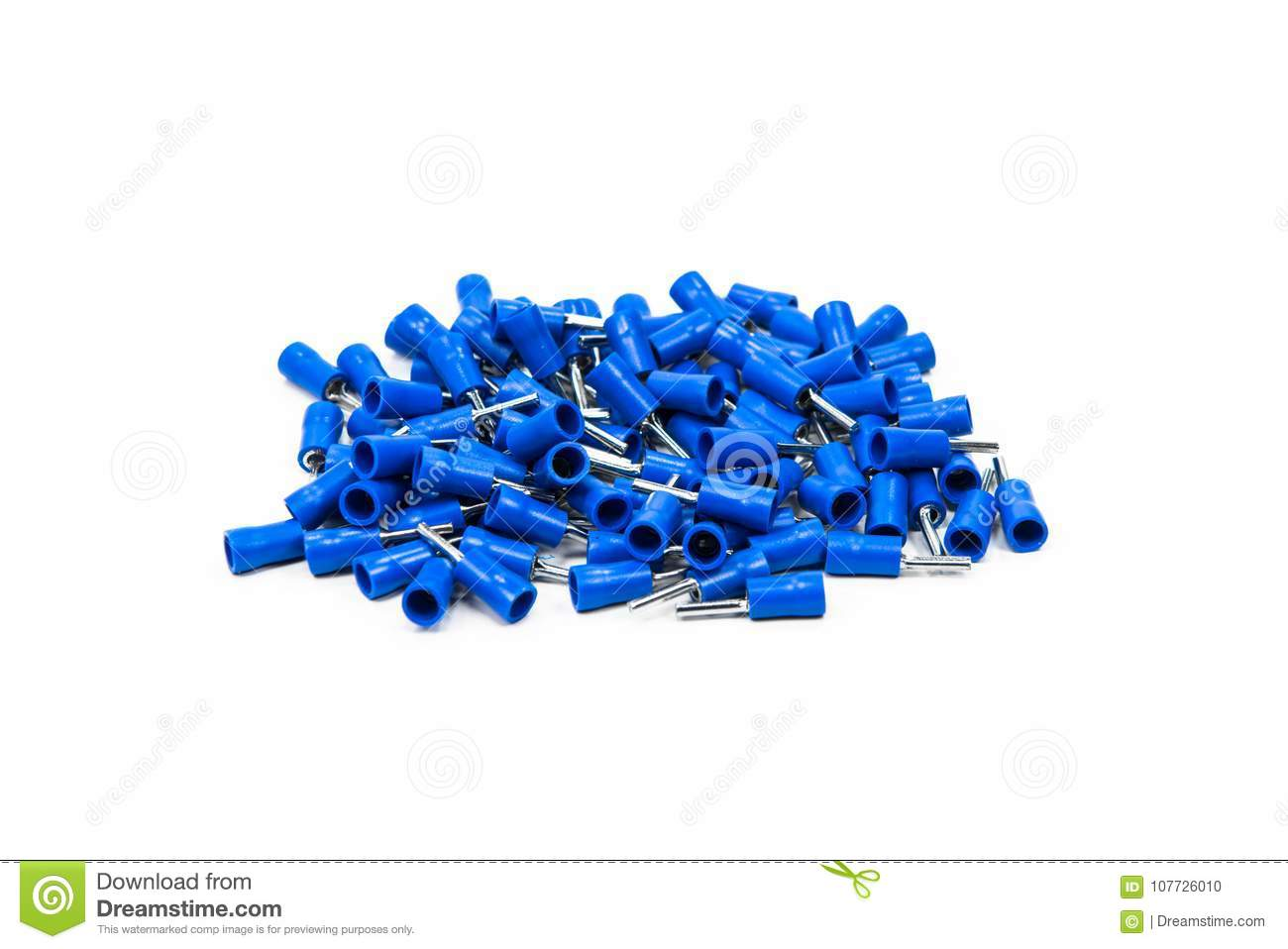 Blue Connector On White Background Stock Photo Image Of Harness Car Wiring Connectors Battery Black Boards Cable Circuit Closeup Computer Connection Current Electric Electrical Electricity