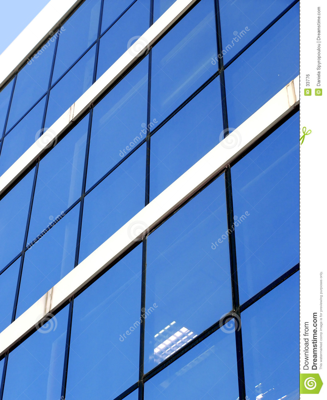 Download Blue corporate building stock photo. Image of architecture - 33776