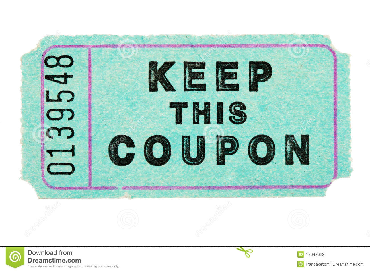 Stock show ticket coupons