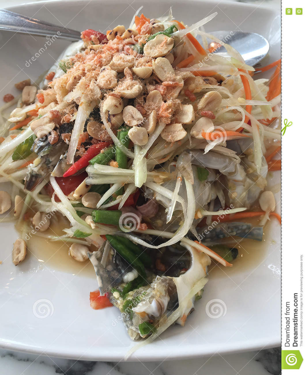 Som Tum Thai Spicy Papaya Salad  Inquiring Chef