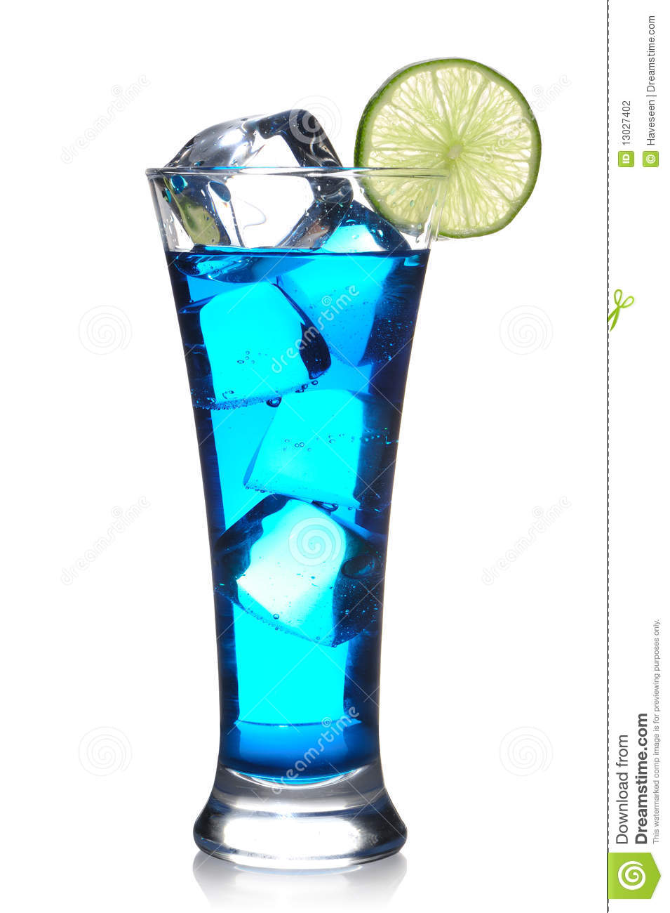 Blue curacao cocktail stock photo image of lime food for Cocktail curacao