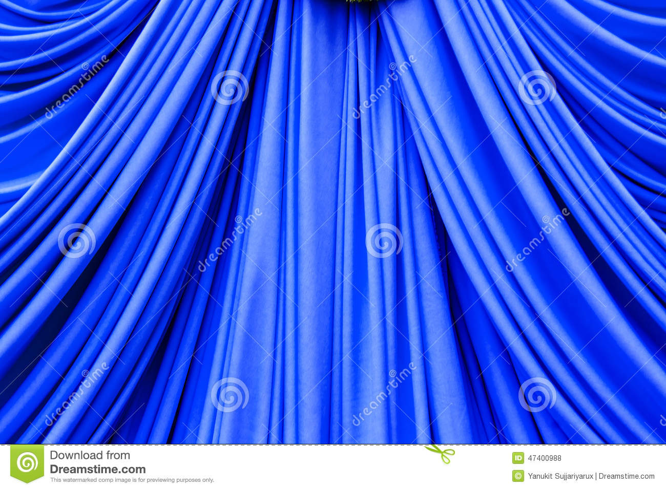 Blue curtain backdrop - Blue Curtain Texture