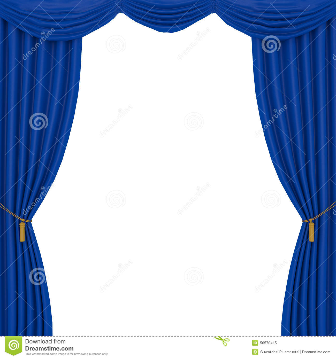 Blue curtain backdrop - Blue Curtains Background
