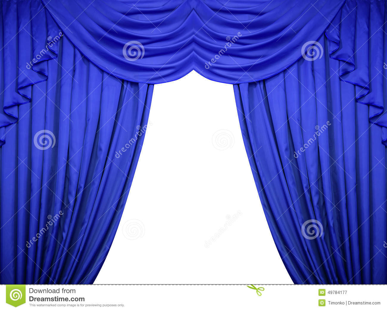 Royalty free or white curtain background drapes royalty free stock - Royalty Free Stock Photo Download Blue Curtains On A White Background