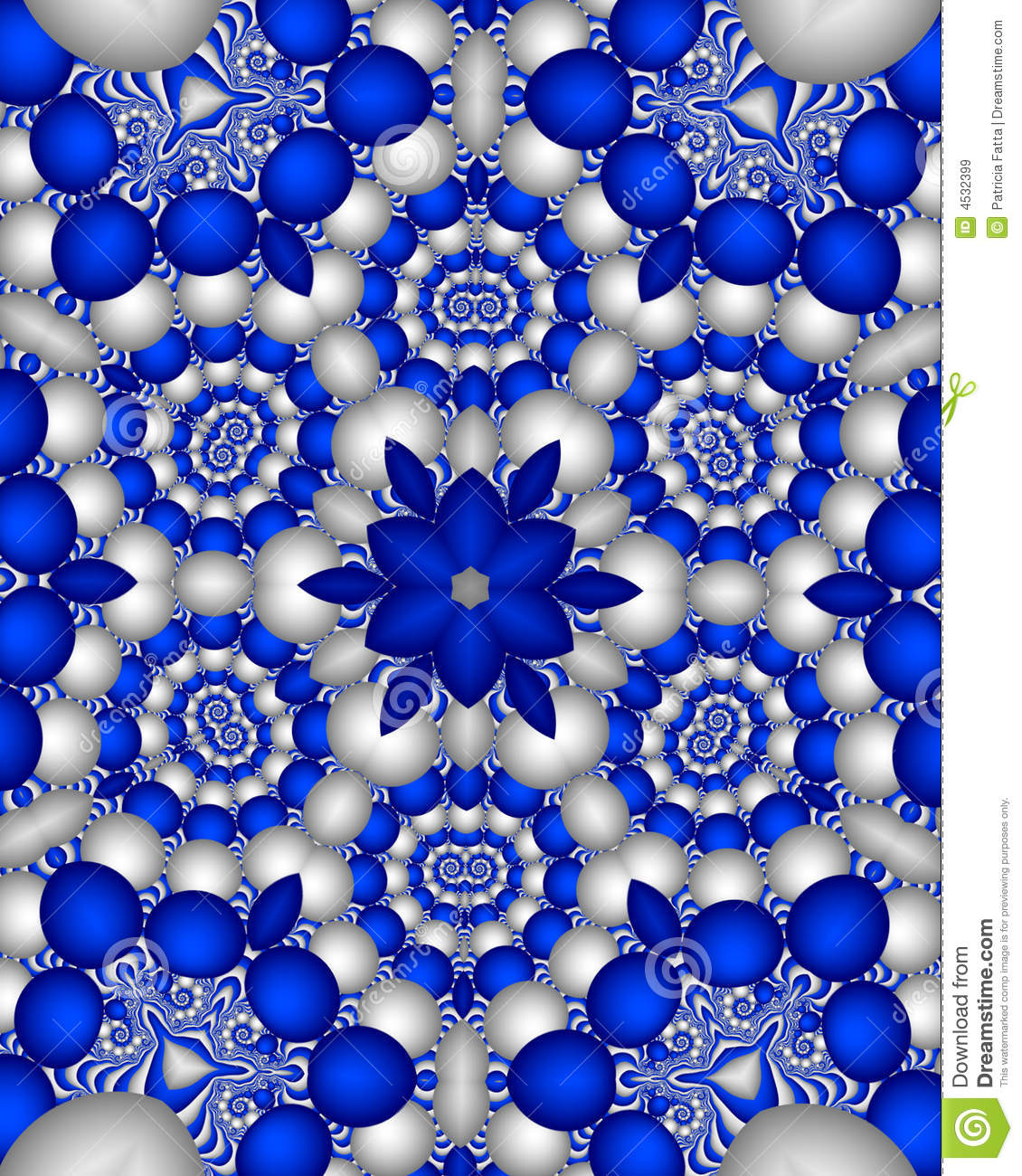 Blue Delft Wallpaper Royalty Free Stock Images Image