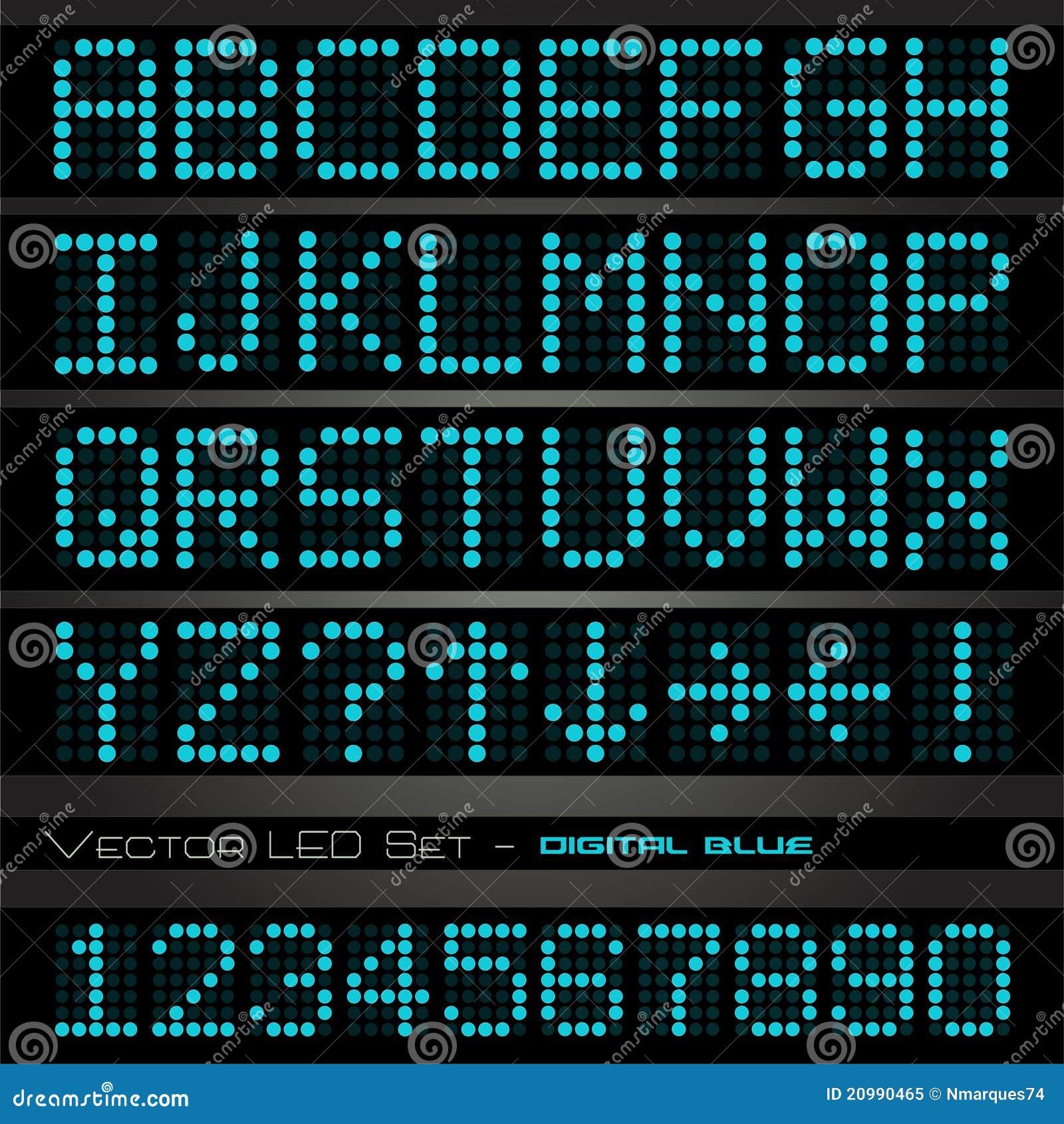 Digital-bold free font download.