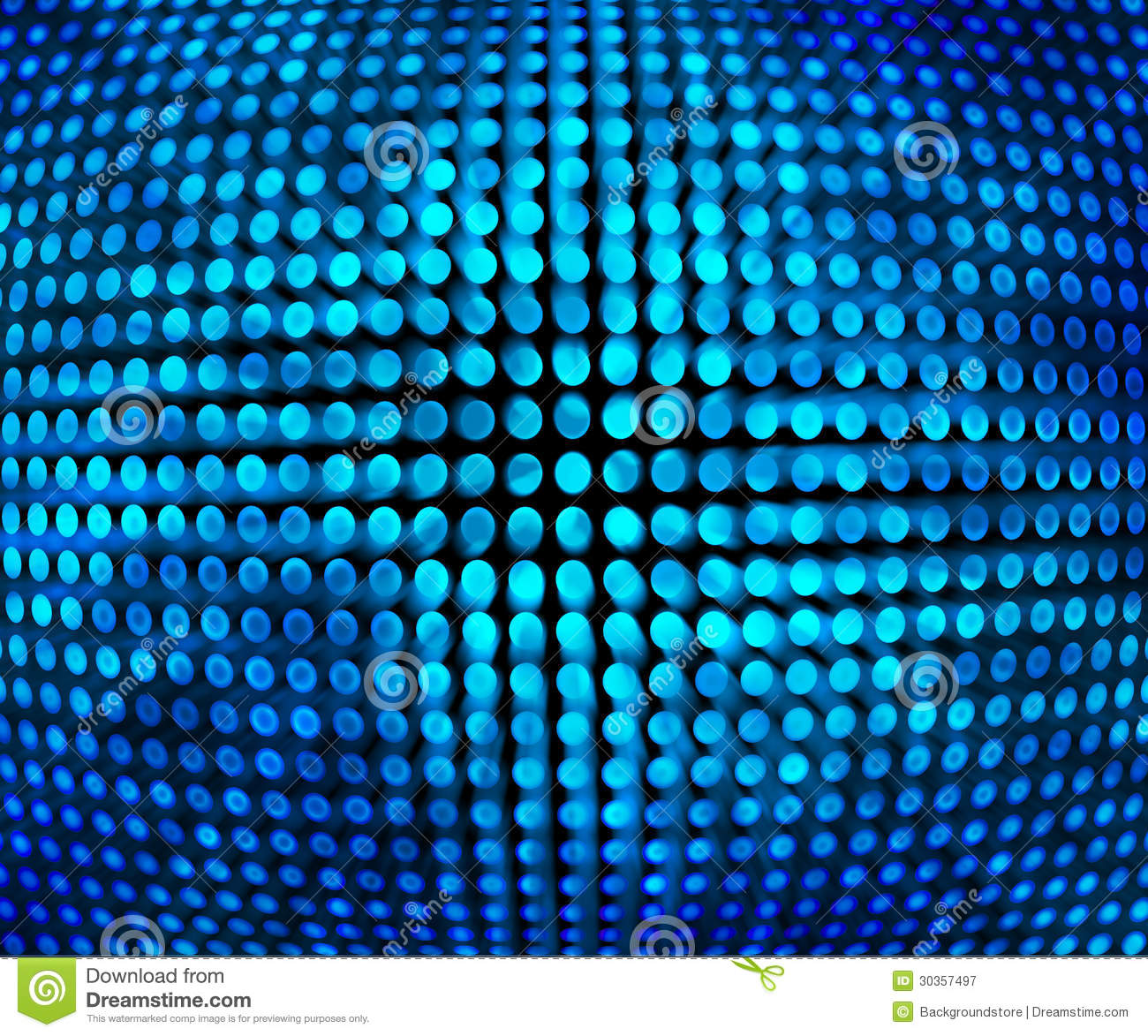 Blue Disco Background Texture Stock Illustration Image
