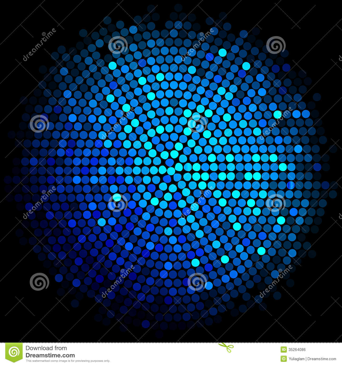 blue disco lights background royalty free stock image
