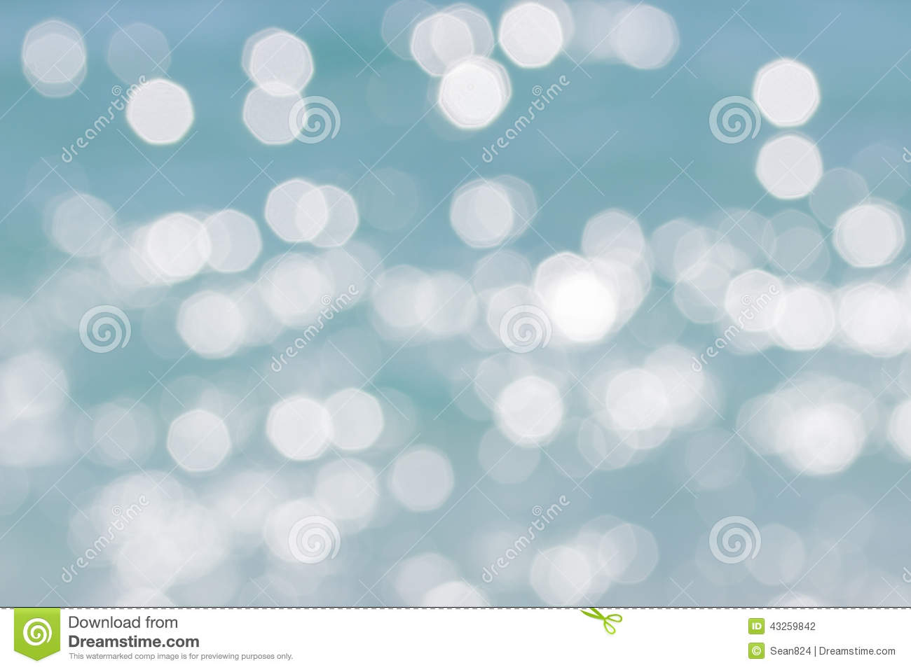 Blue disfocused abstract background