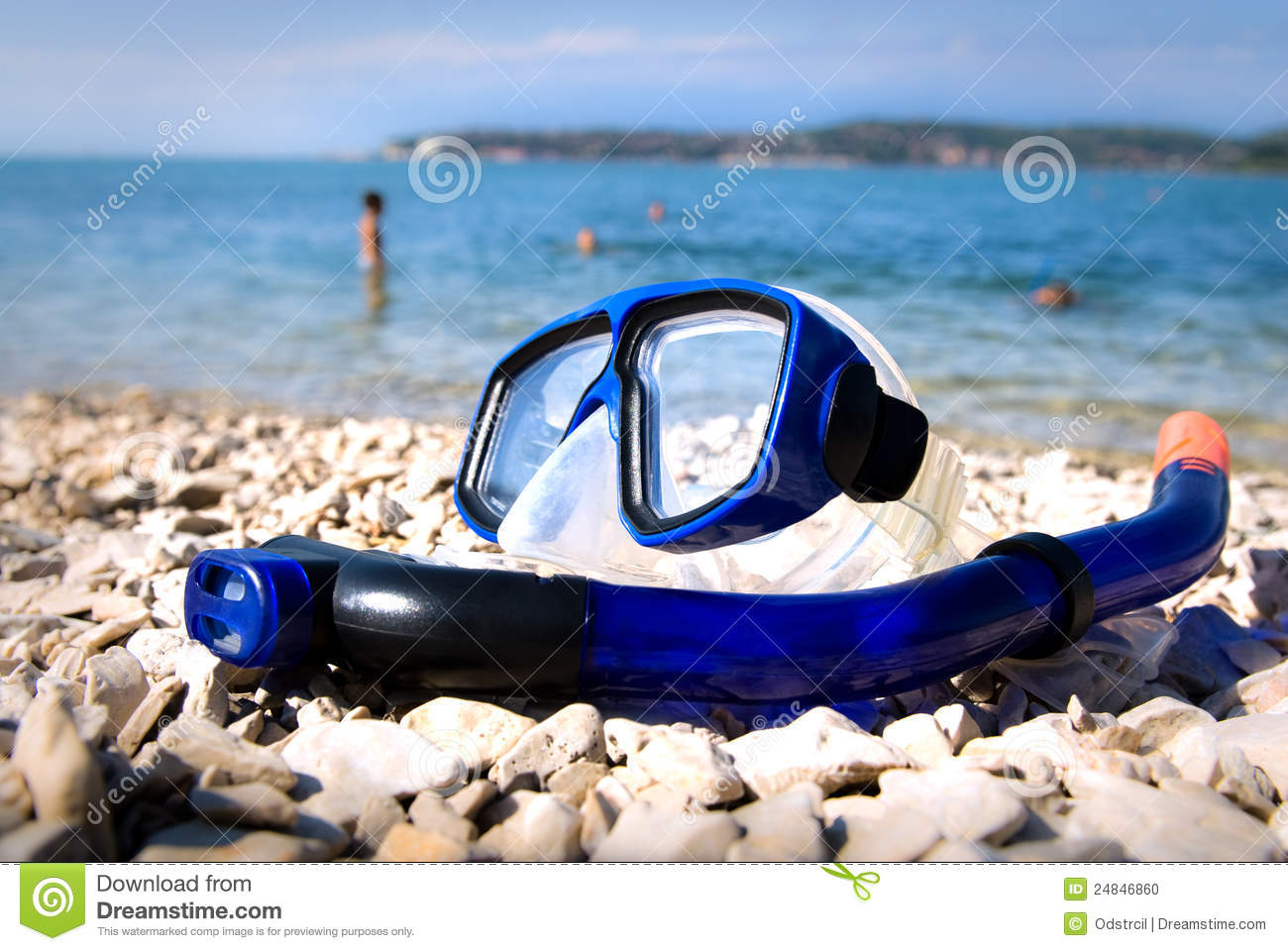 beach goggles  Blue Goggles On The Beach Sand Stock Photo - Image: 68613228