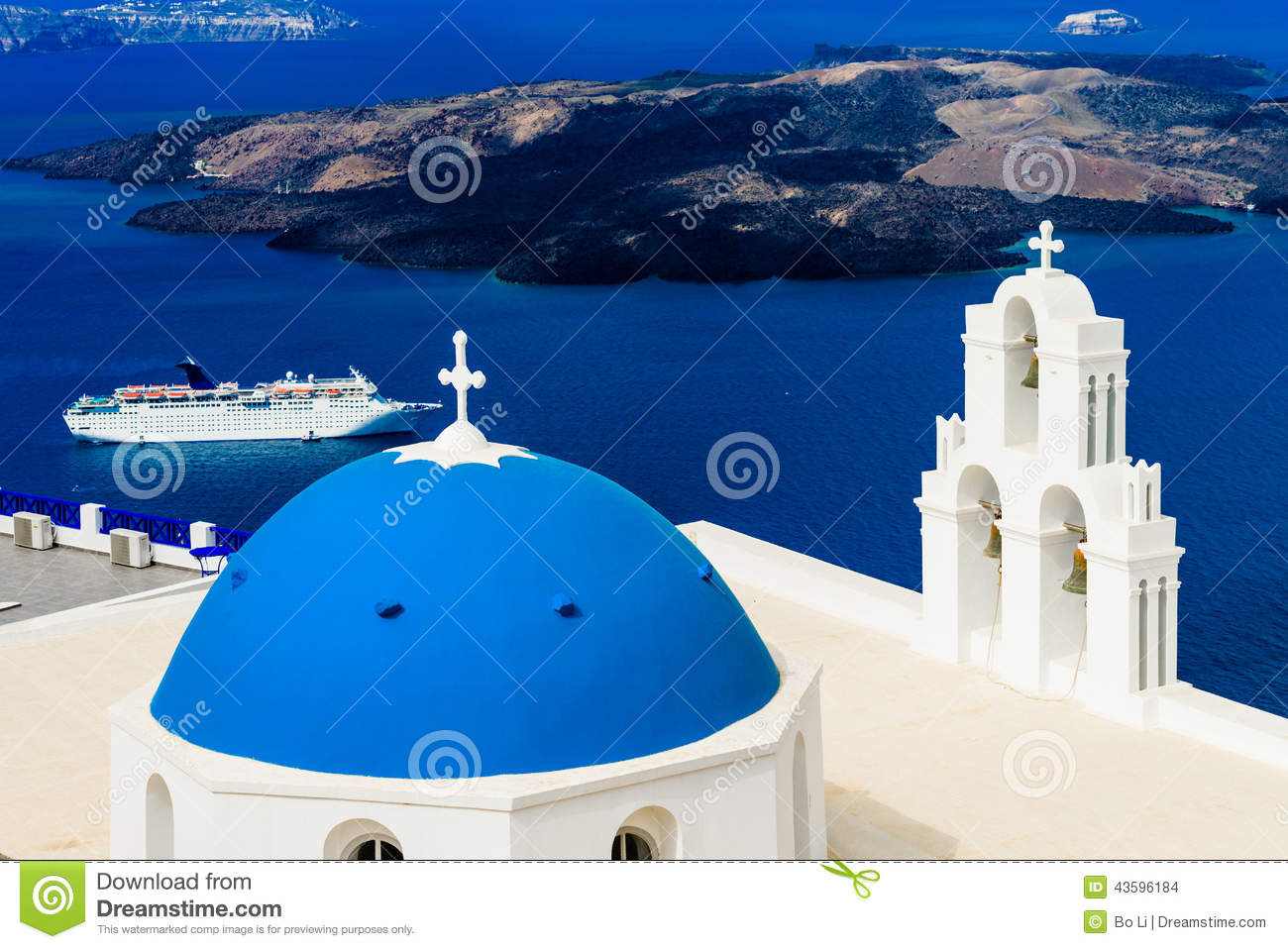 Blue Dome Church and Cruise