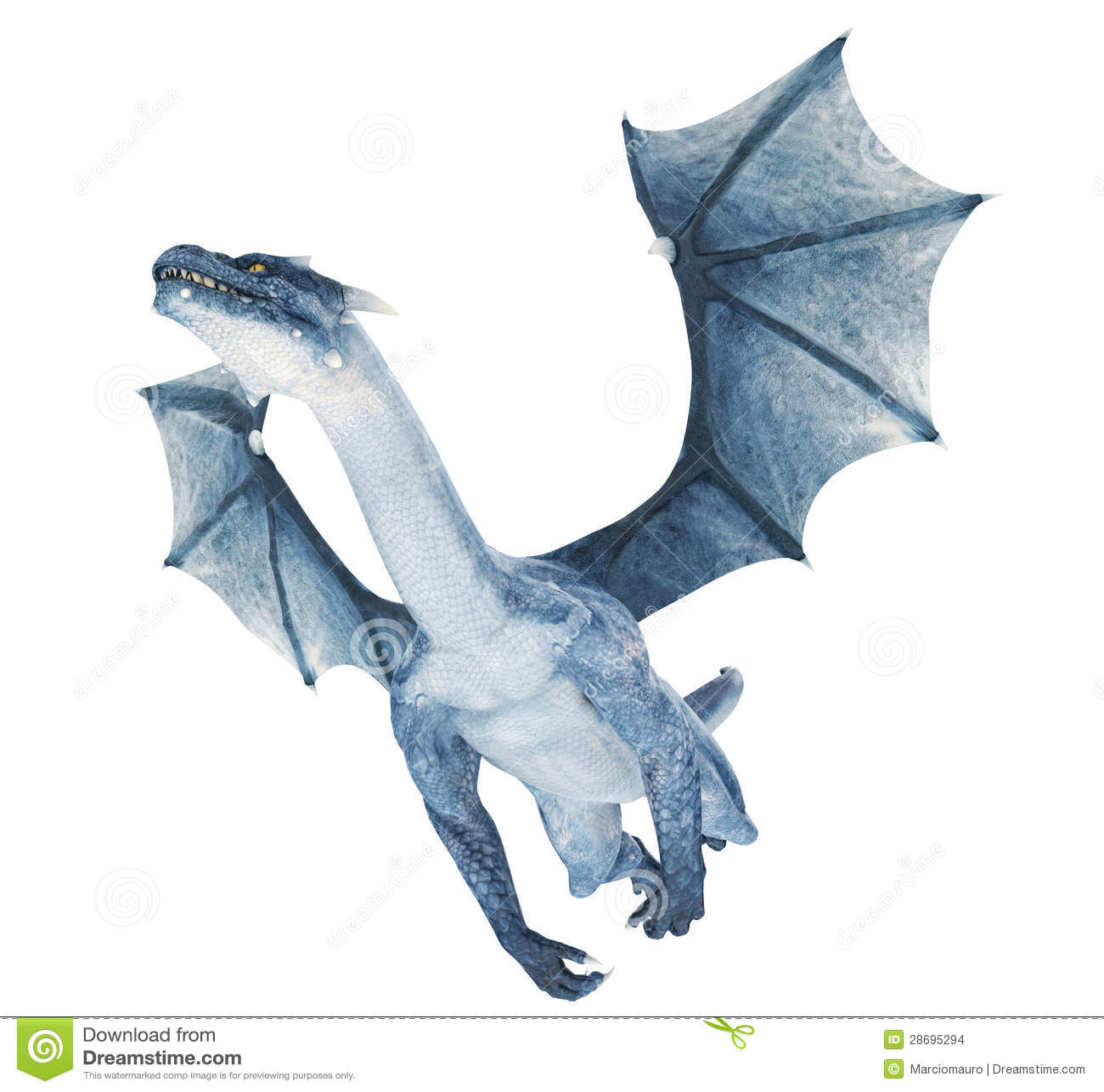 Blue Dragon Flying Stock Photo Image: 28695260 - 1300x1302 - jpeg