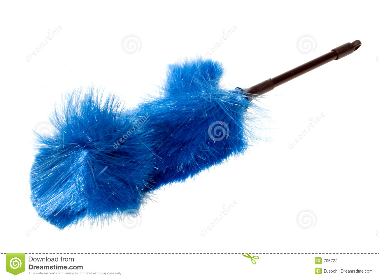Blue Dust Brush Fanned Stock Image Image Of Hairs House