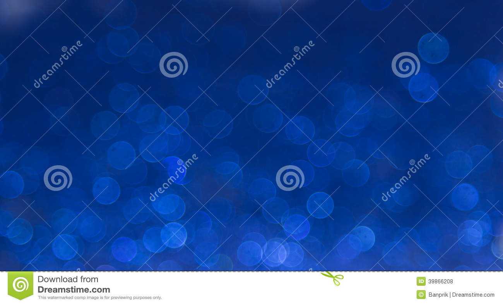 Blue elegant abstract bokeh background