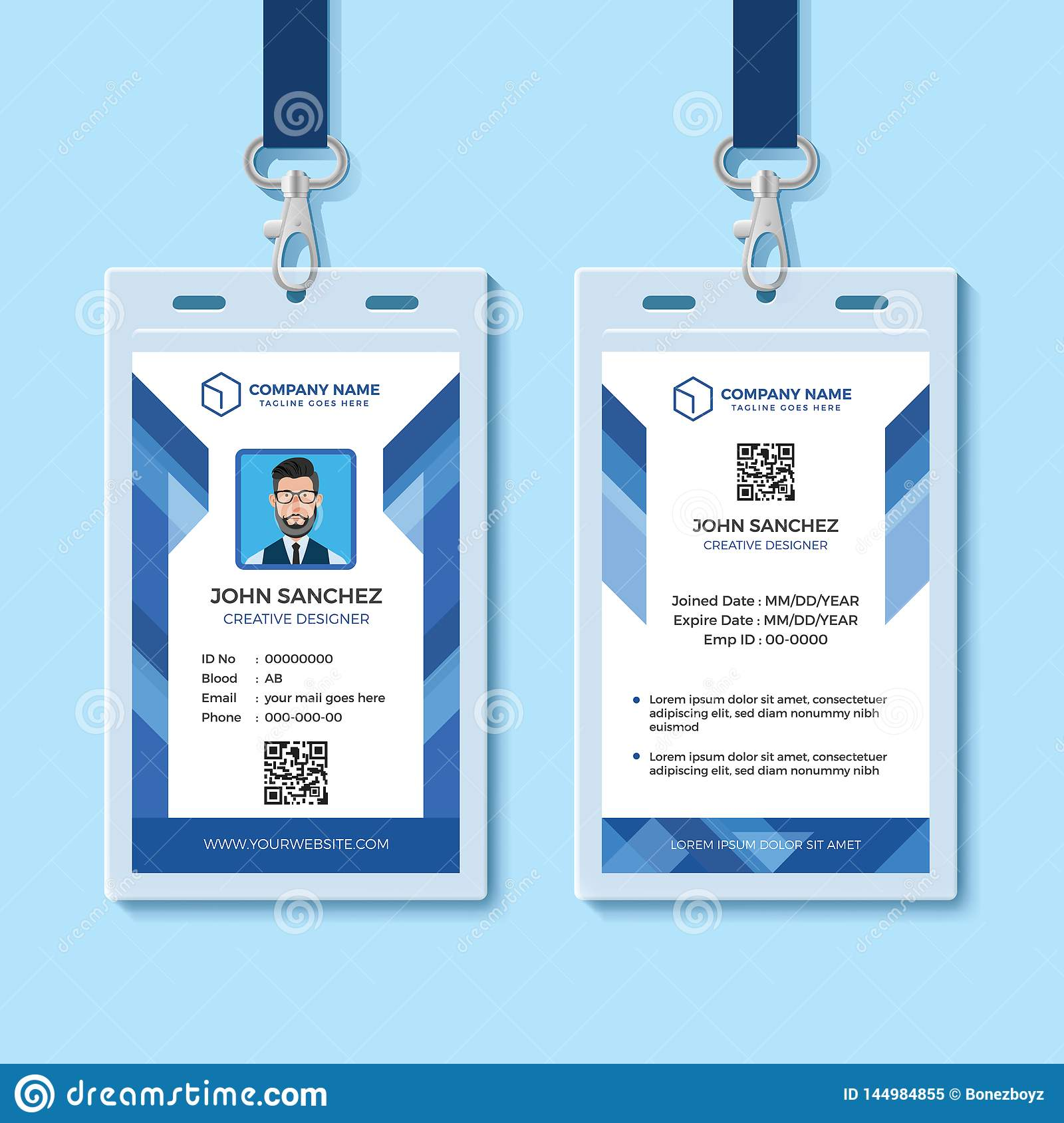 Identification Template Free from thumbs.dreamstime.com