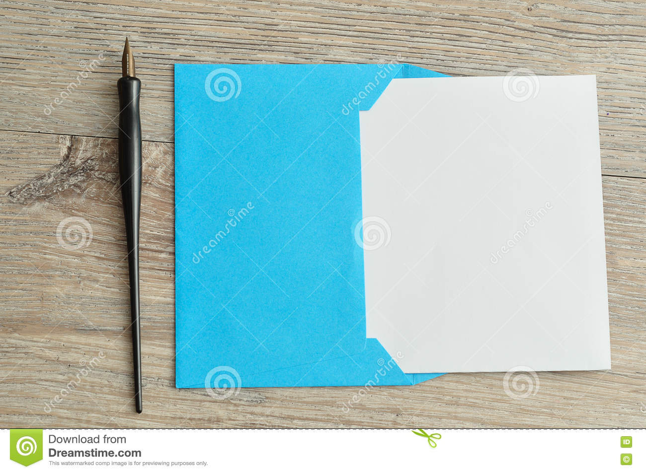 a piece of paper to write on