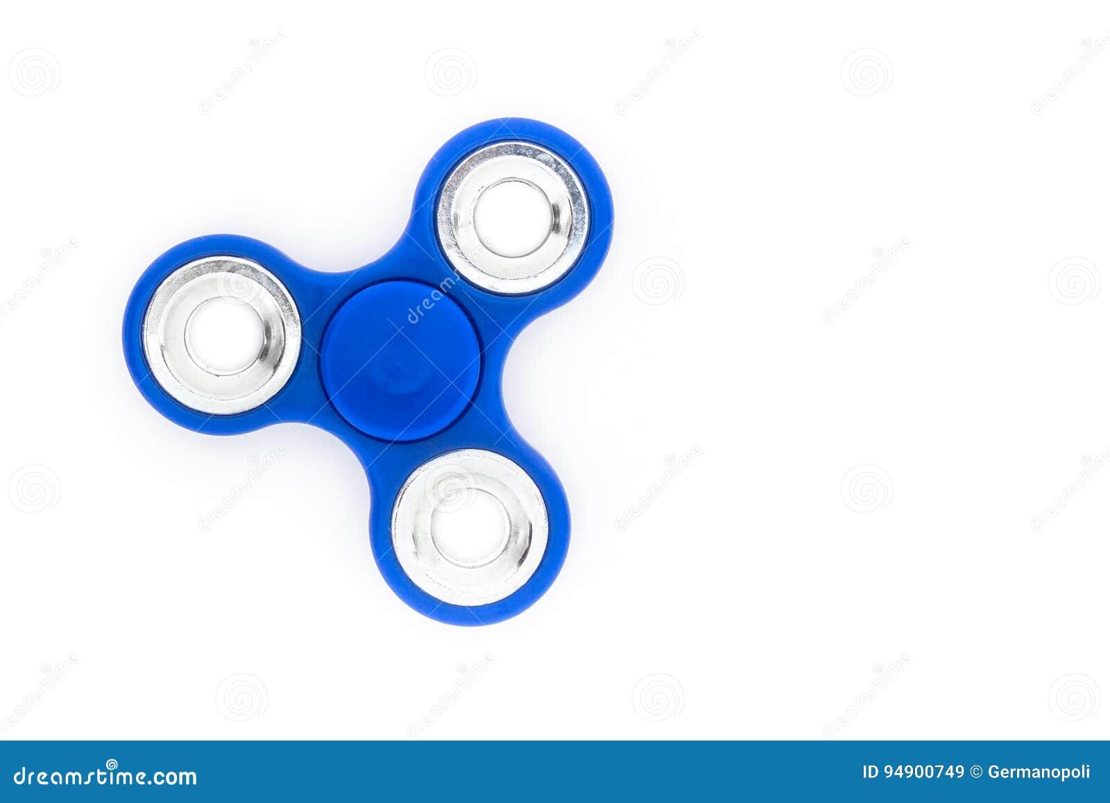Blue finger spinner