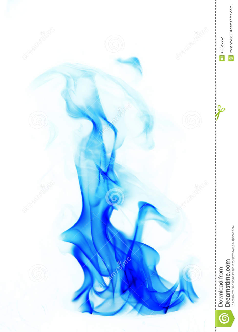 Blue Fire Flames Stock Photo - Image: 49925652