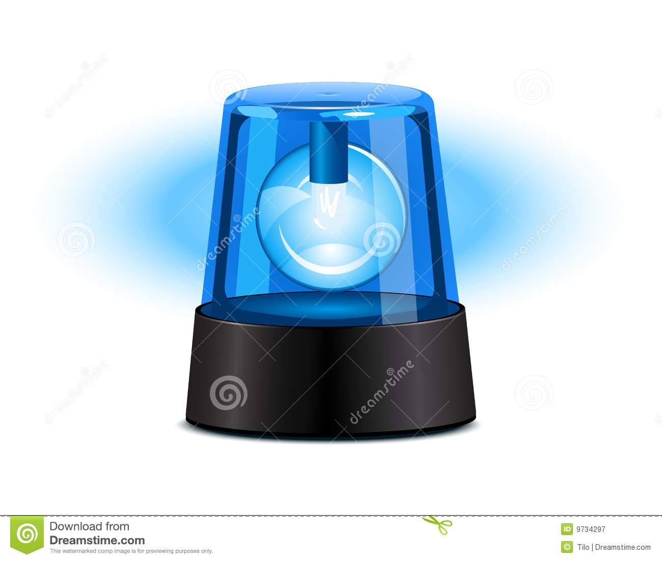 Blue Flashing Light Stock Illustrations 531 Strobe Circuit Related Keywords Suggestions Vectors Clipart Dreamstime
