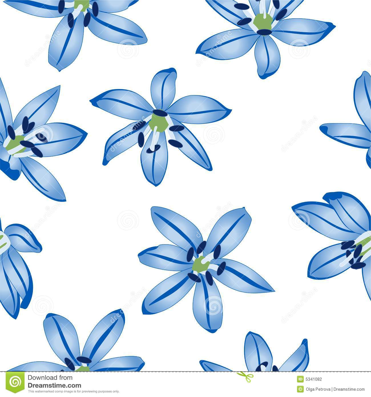 Blue flowers on white background stock photography image 5341082 background blue seamless white buds pattern petals flower dhlflorist Gallery