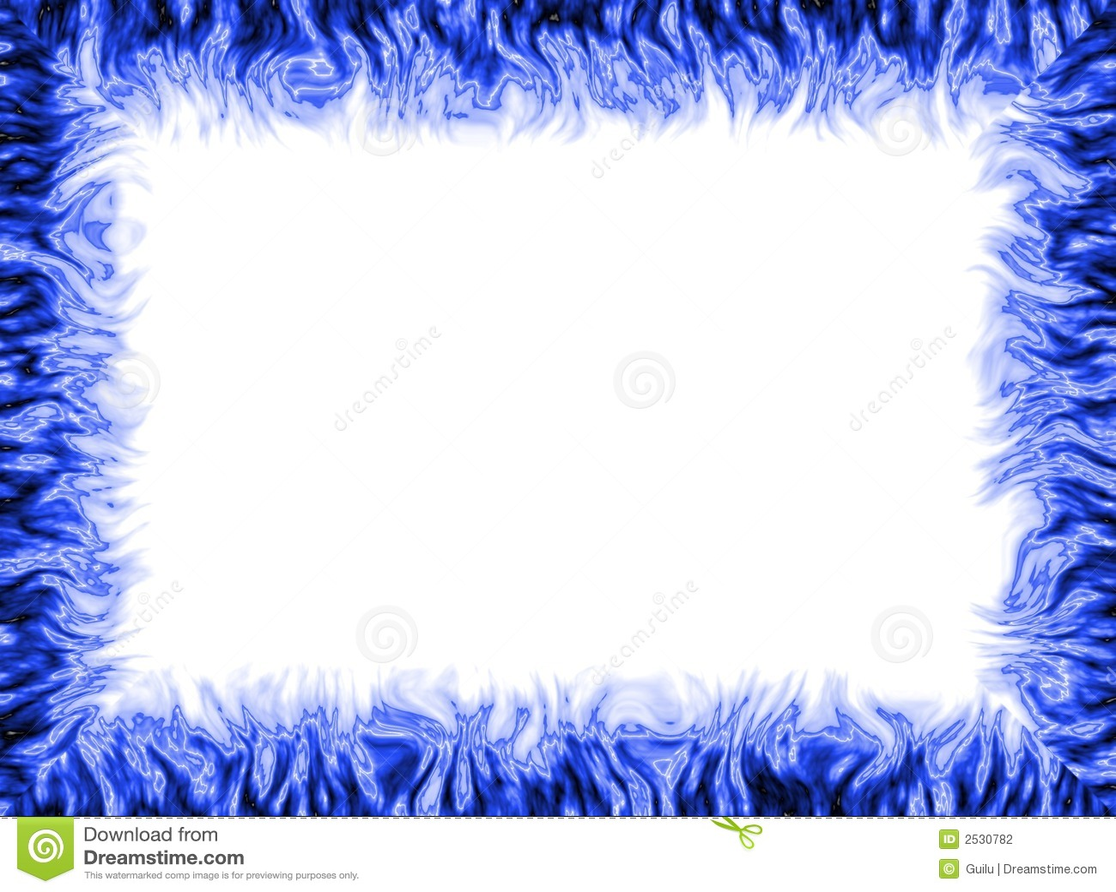 Blue Frame Stock Photography - Image: 2530782