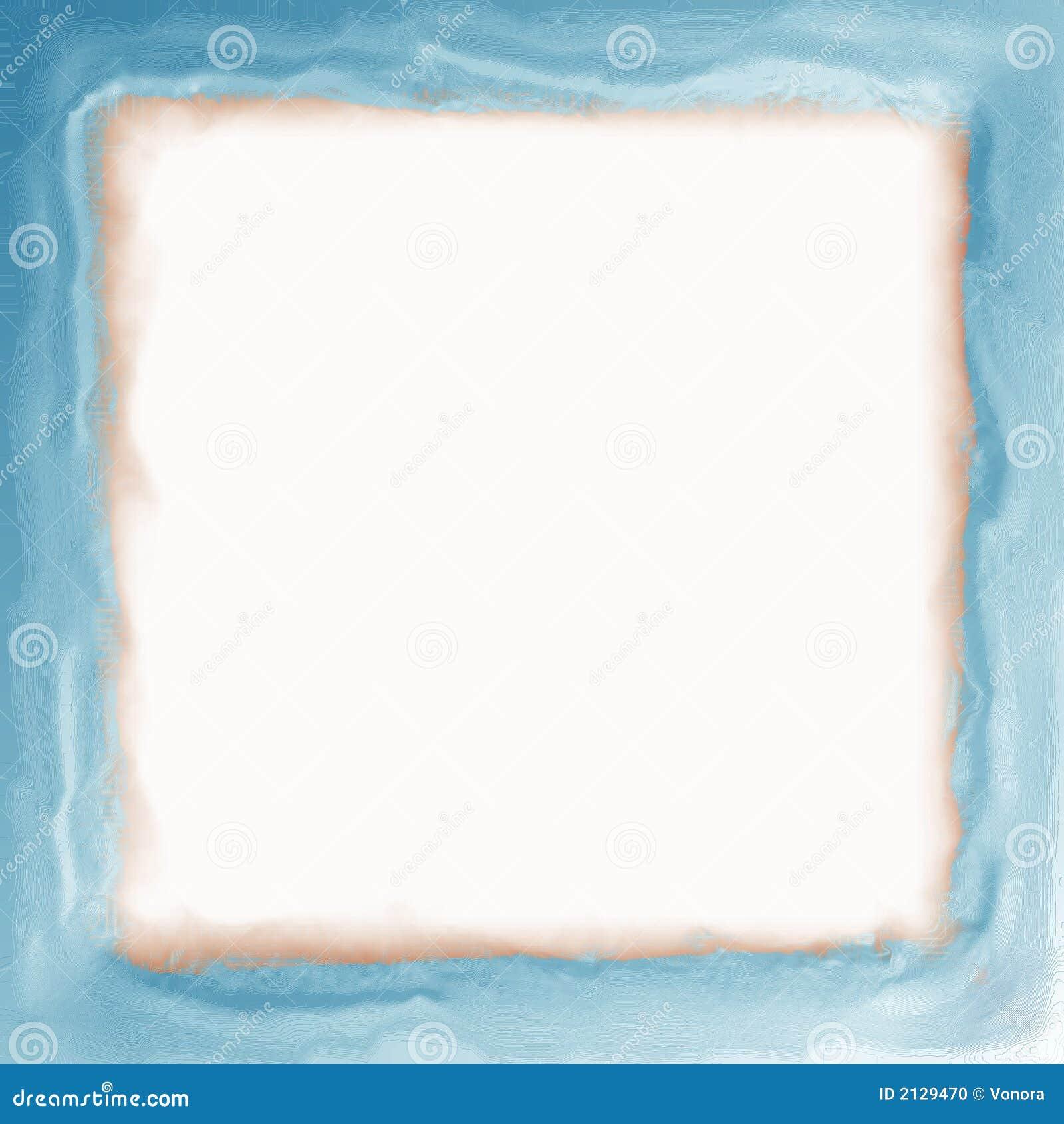 Blue frame with soft edges
