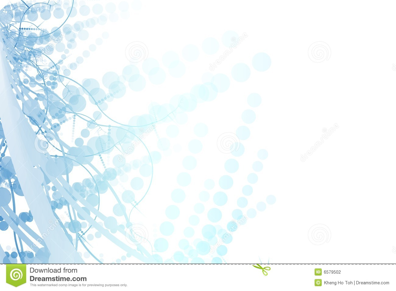 blue fun template abstract billboard background stock illustration