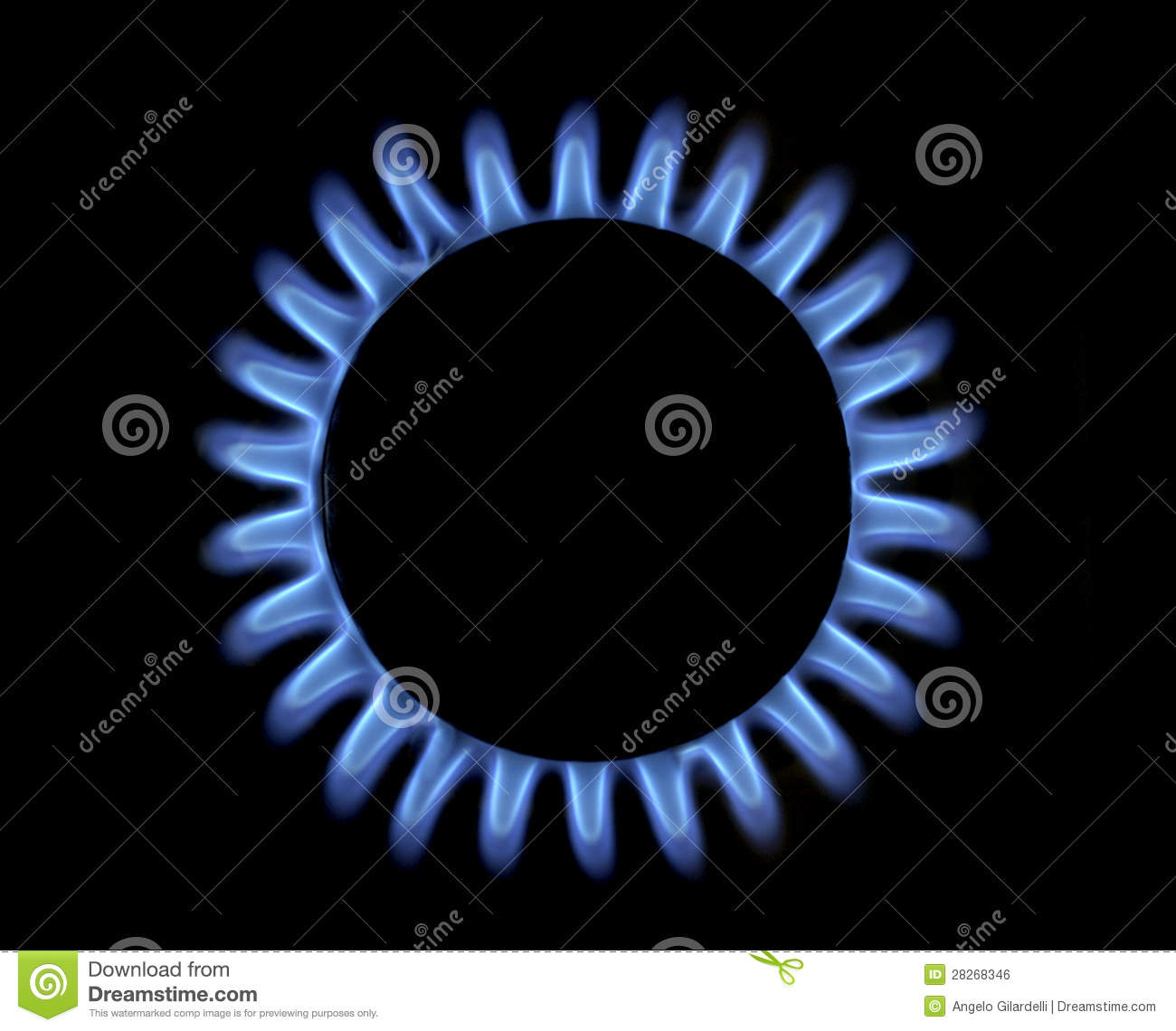 Blue Flame Kitchen: Blue Gas Flame Stock Photo. Image Of Kitchen, Above, Heat