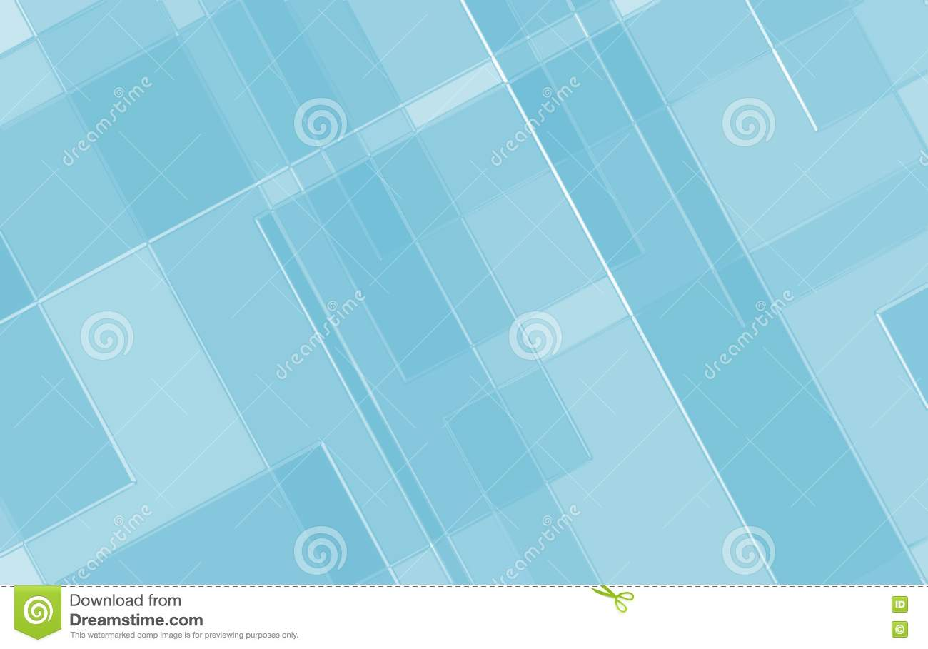 Blue Geometric Background With Angled Lines Blocks Squares