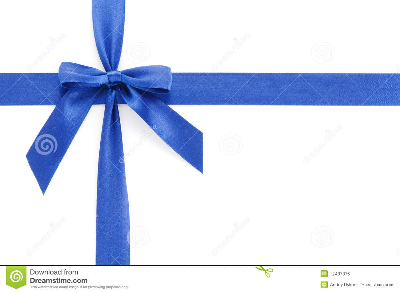 Blue gift bow stock photo image of elegance band sign 12487876 royalty free stock photo download blue gift bow negle Image collections