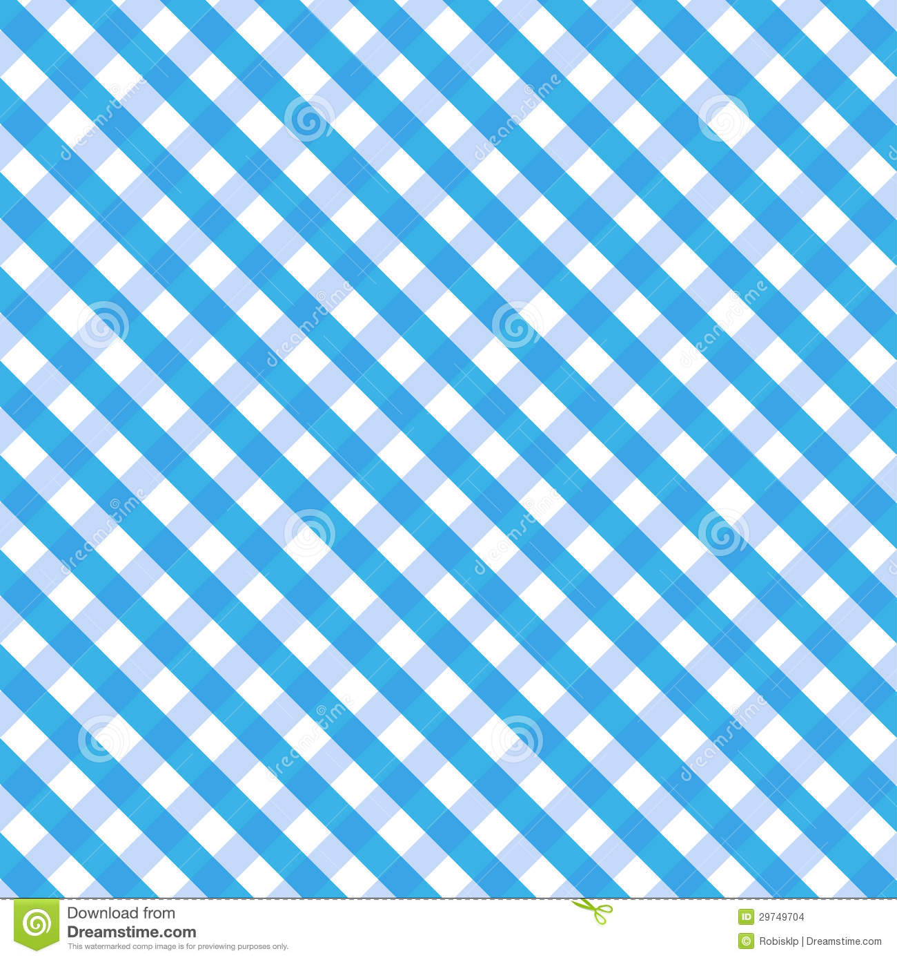Kitchen Wallpaper Blue And White Check