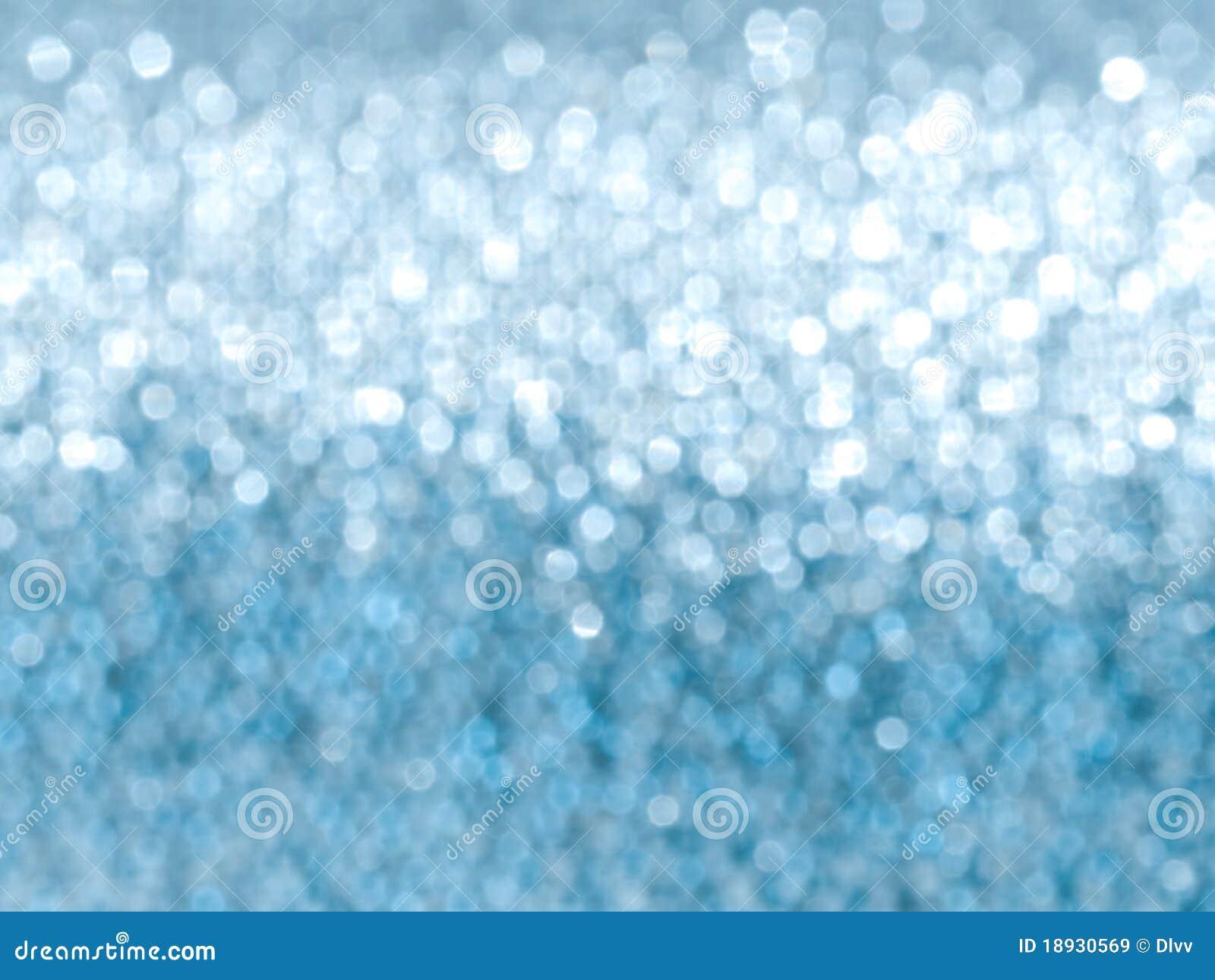 Light Blue Glitter Background