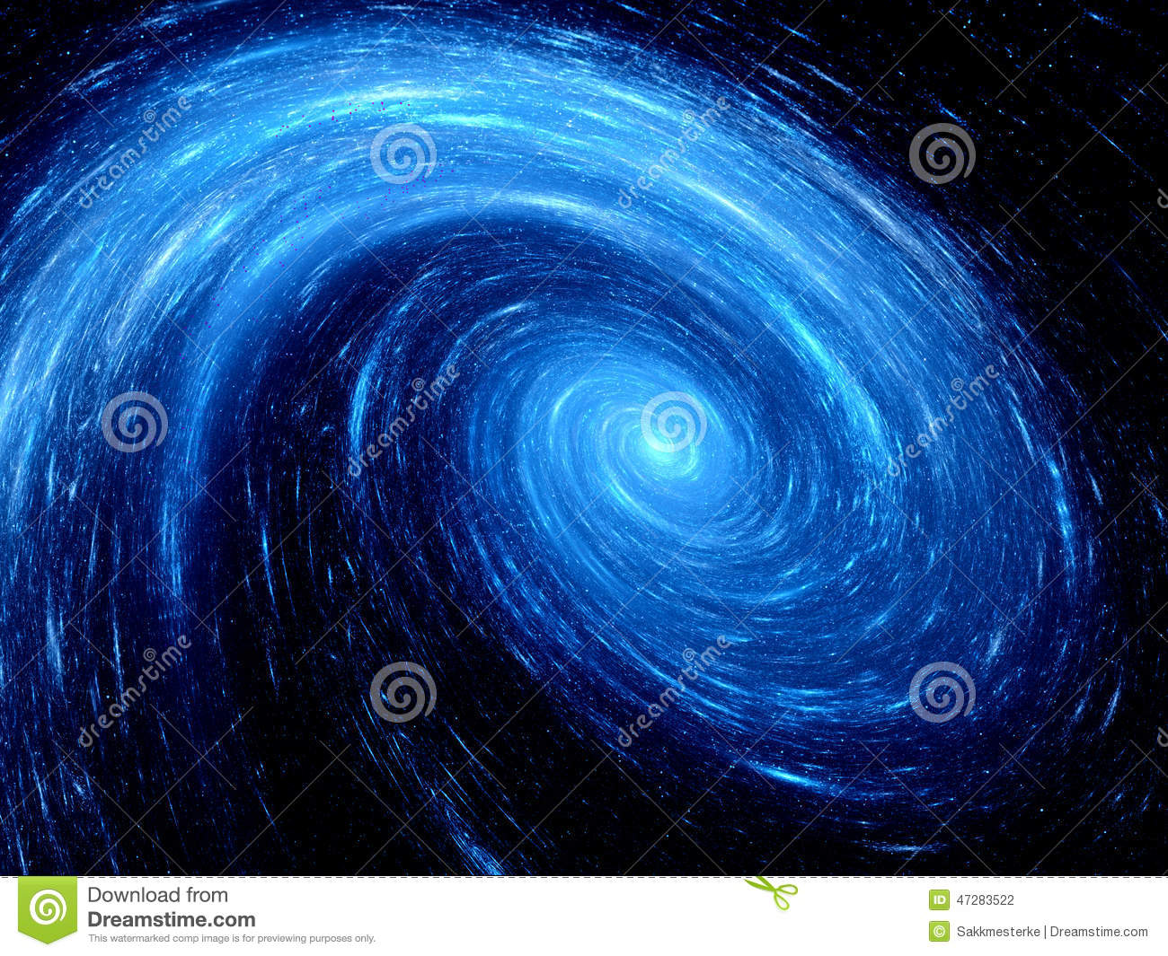 blue spiral galaxy abstract - photo #1