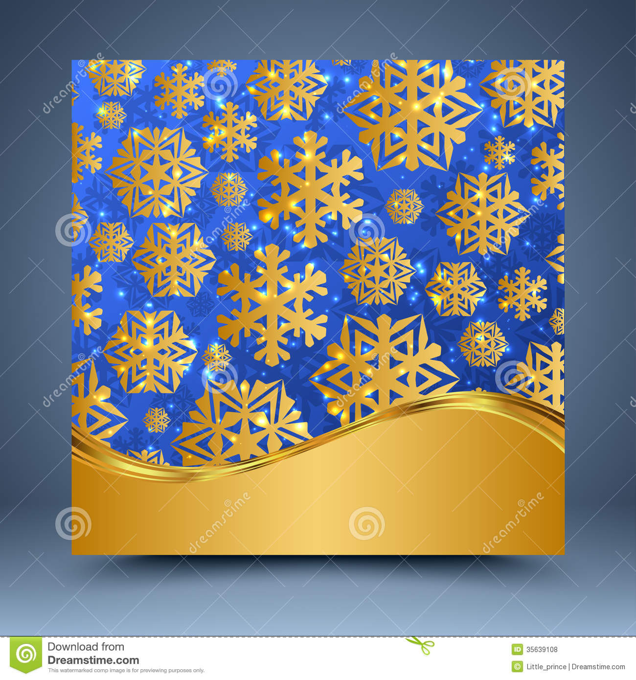 blue and gold christmas abstract background royalty free