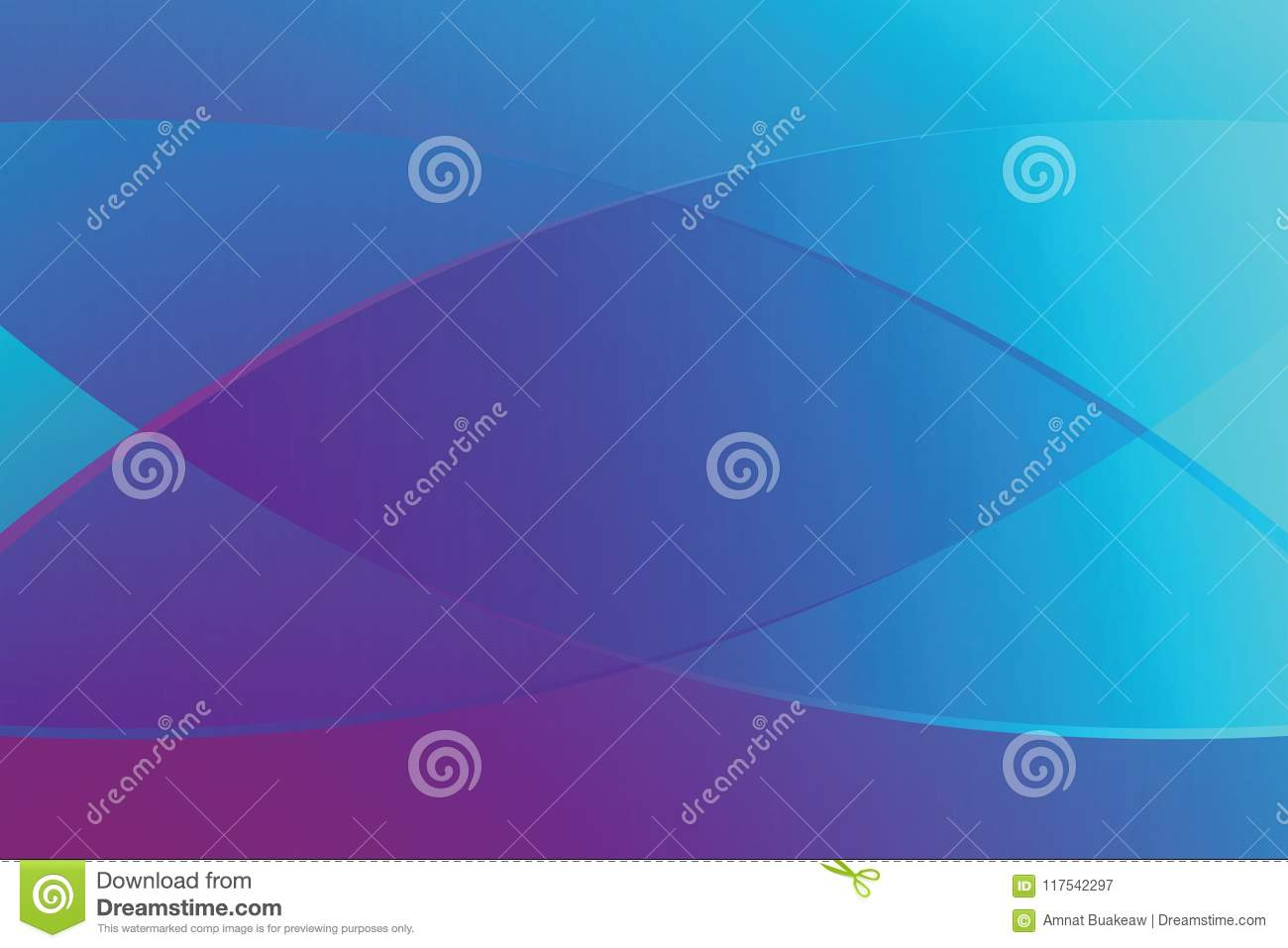 Blue Gradient Color Soft Light And Line Graphic For