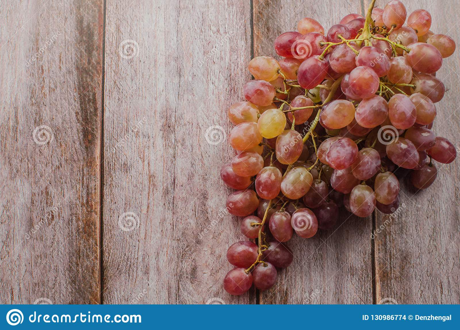Blue grapes with green leaf healthy eating,