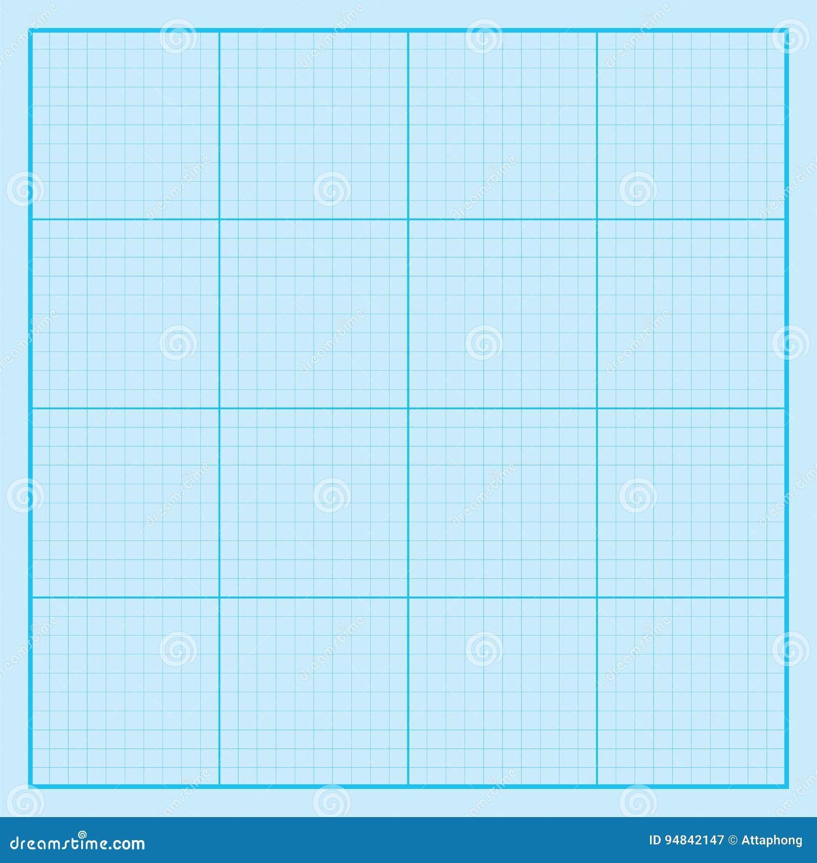 blue graph paper coordinate paper grid paper squared paper stock