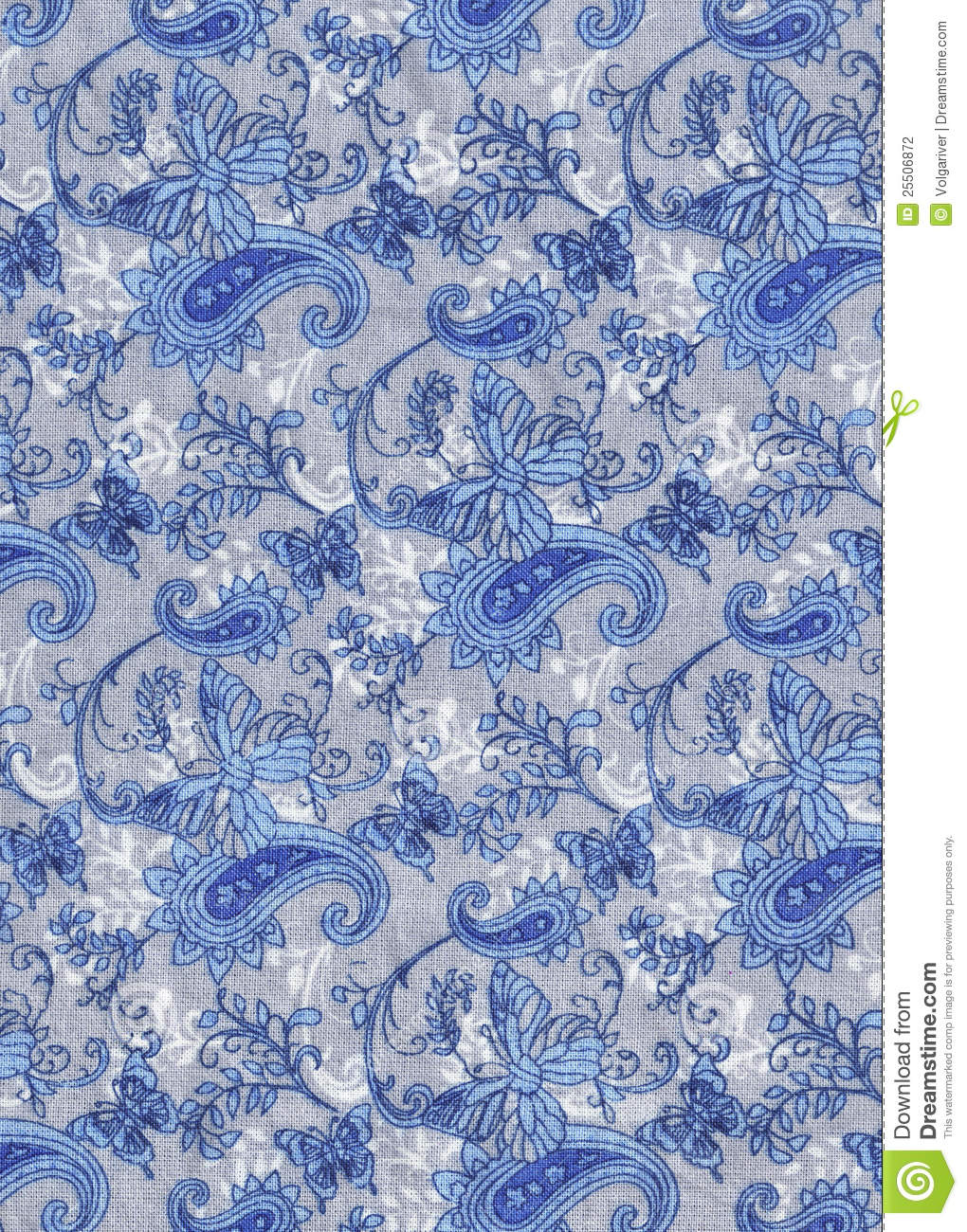Blue And Gray Fabric Background Stock Photography - Image: 25506872