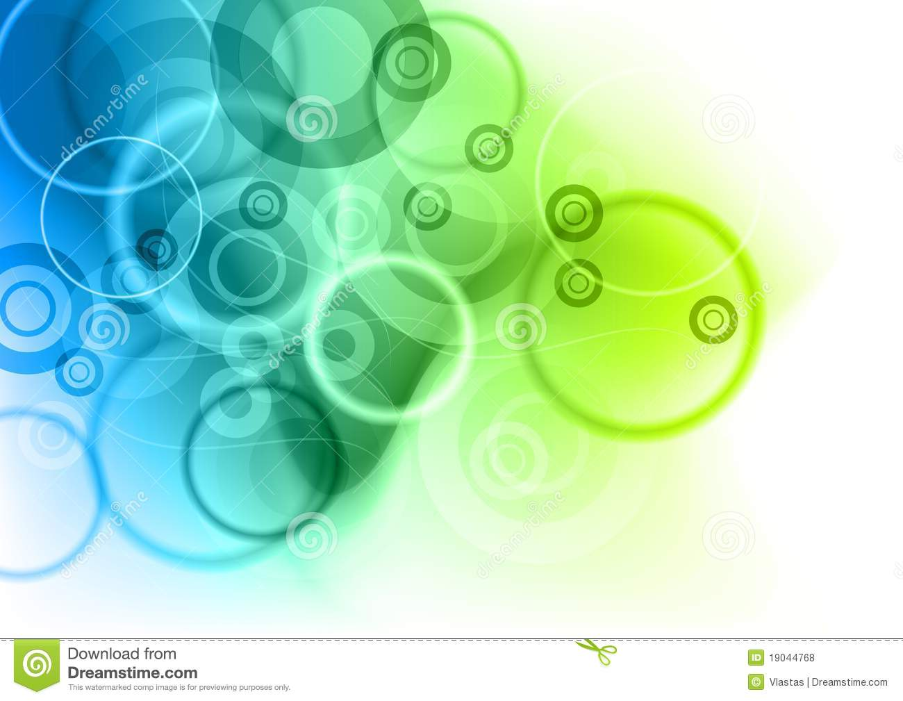 Blue And Green Stock Vector Illustration Of Mist Blur 19044768