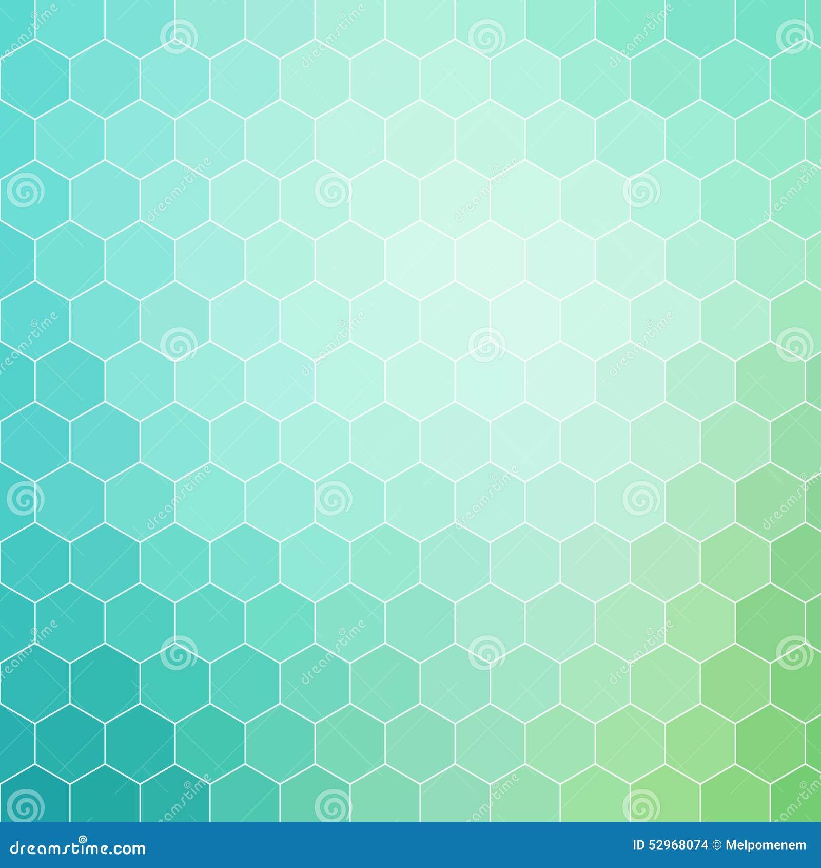 blue hexagonal pattern vector - photo #5