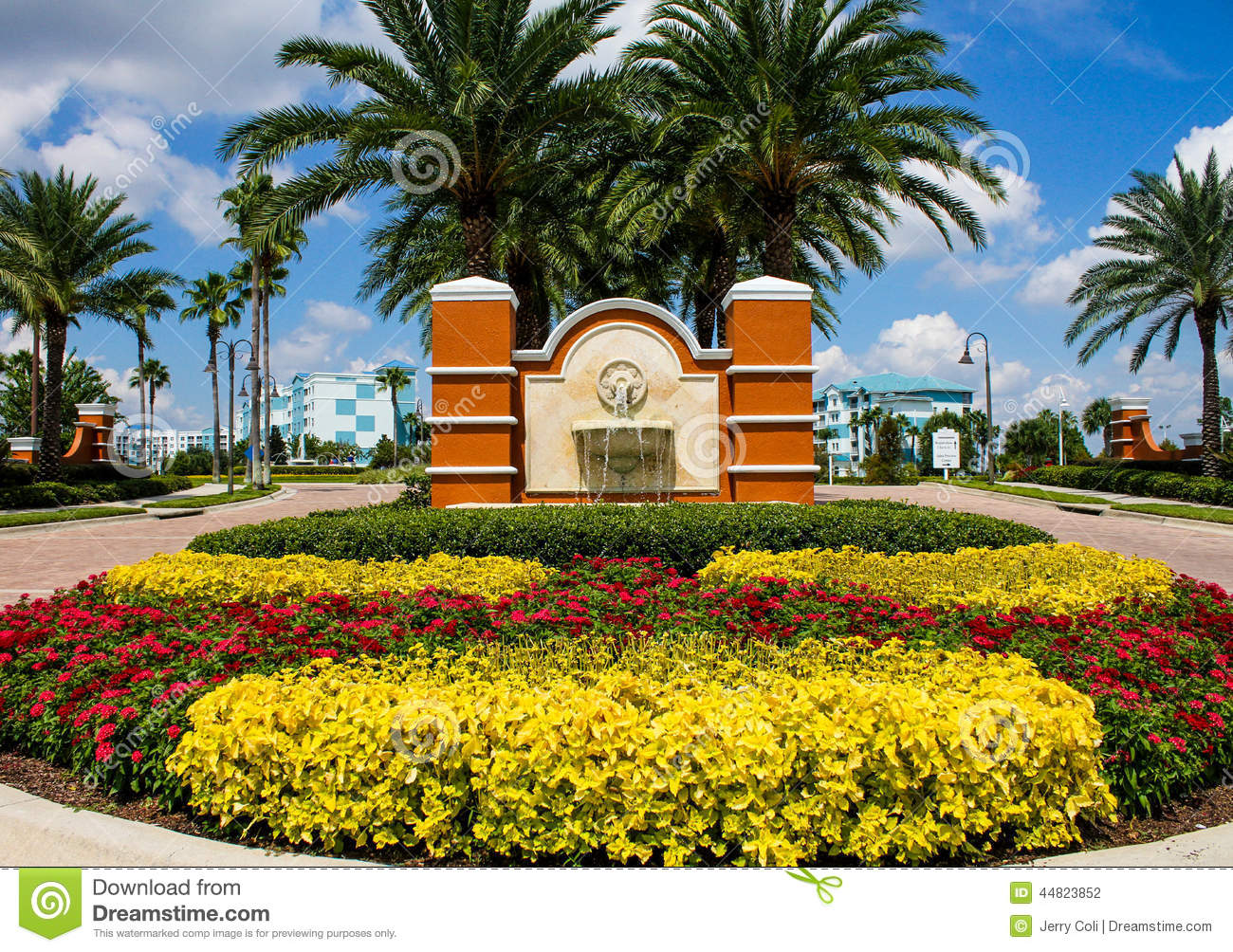 Blue Green Resort, Orlando, Florida Editorial Photography - Image ...